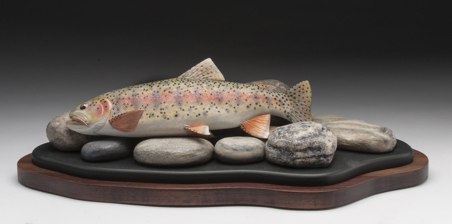 PCC2017- 1st Best of Show Open - Carl Robblee Kem River rainbow trout