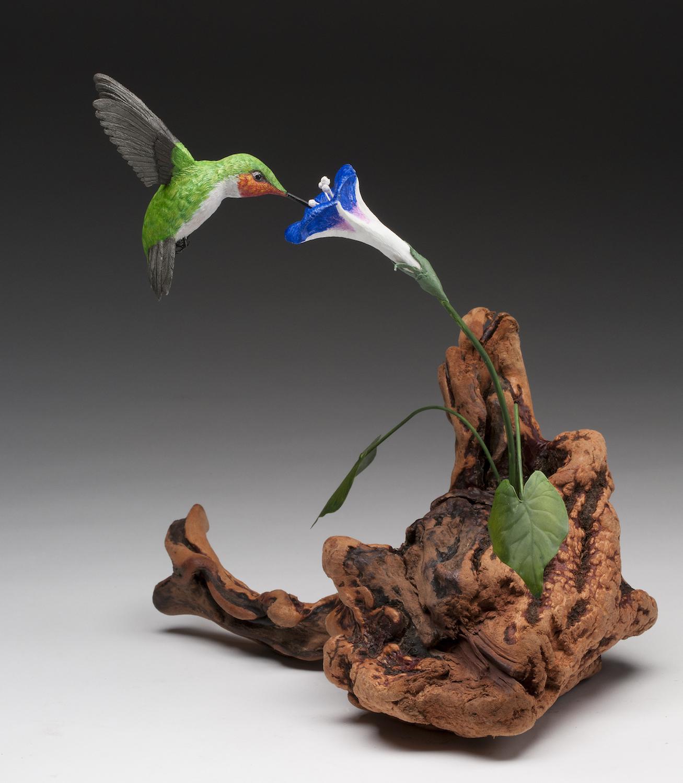 PCC2017- 2nd Best of Show Intermediate - Gerald Lukianchuk - ruby-throated hummingbird