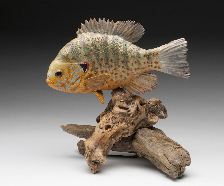 PCC2017- 2nd Best of Show Intermediate - Lynda Baxter pumpkinseed fish