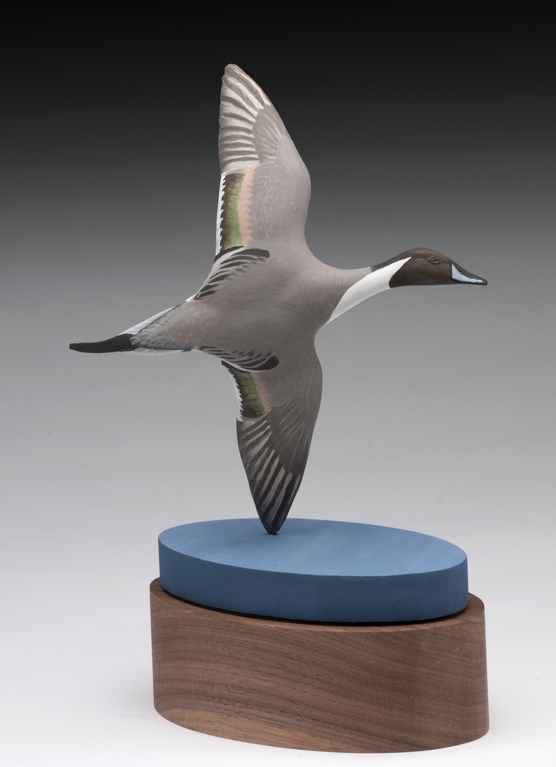 PCC2017- 3rd best of Show Novice - Carrie Braden miniature northern pintail drake