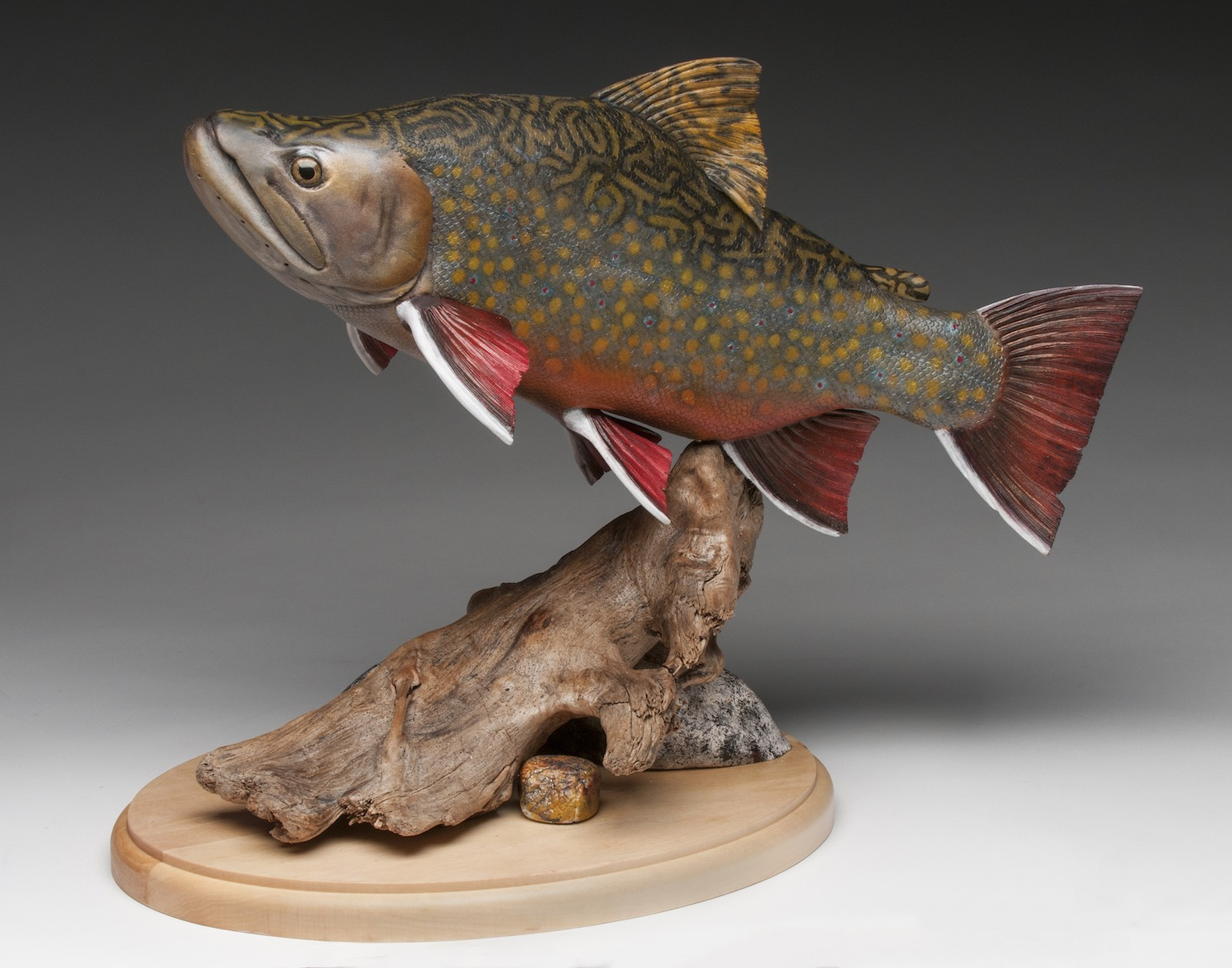 2018 Intermediate 1st Best of Show - Dennis Brown - brook trout