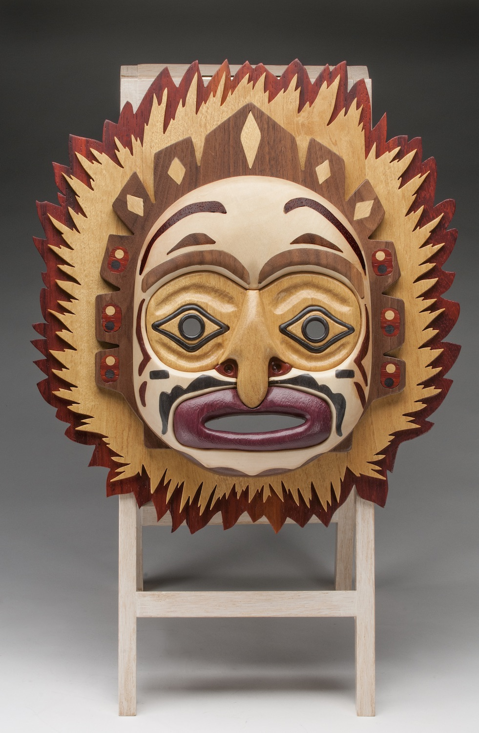 2018 Intermediate 1st Best of Show - Perry Kon - Native mask