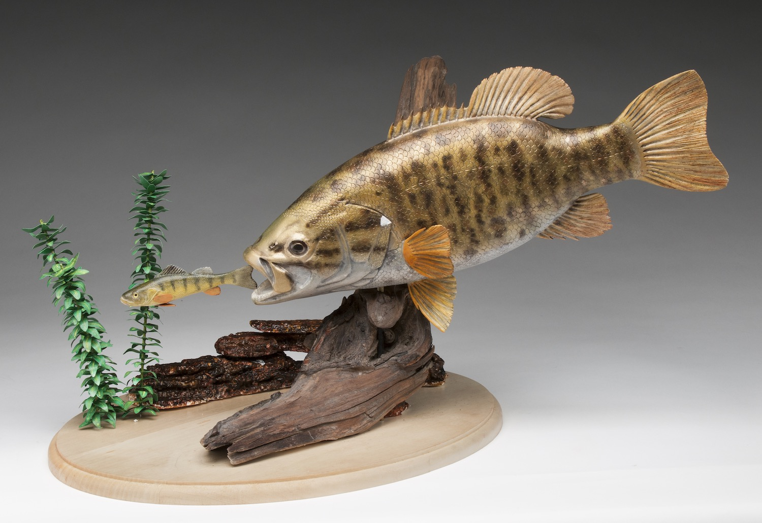 2018 Intermediate 2nd Best of Show - Dennis Brown - small mouth bass