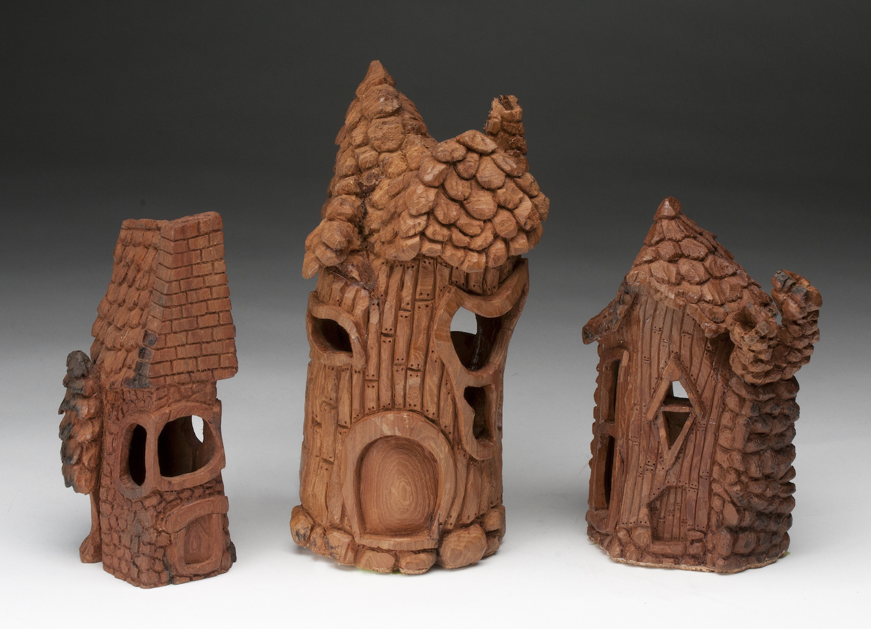 Intermediate 2nd Best of Show- Whimsical Village - Larry Weselake